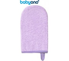 Baby Ono - Luva de lavagem de bebé rosa