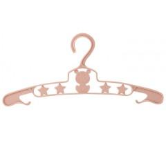 Saro - Conjunto de 6 Cabides Ursinho Rose