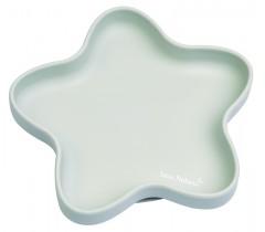Saro - Prato de silicone Star Cinza