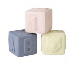 Saro - Set de cubos de borracha natural