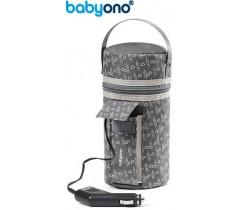 Baby Ono - Aquecedor de biberão para automóvel cinza