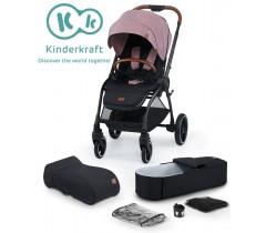 Kinderkraft - Carrinho de bebé EVOLUTION COCOON 2 in 1 marvelous pink