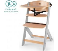 Kinderkraft - Cadeira da papa Enock Gray Hood