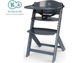 Kinderkraft - Cadeira da papa Enock Gray