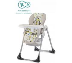 Kinderkraft - Cadeira da papa TASTEE green tree