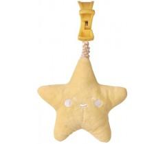 Saro - Guizo Wild Star com luz e melodía Amarelo