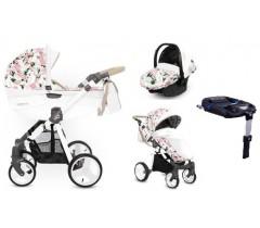 BabyActive - Carrinho de bebé 4 in 1 Mommy Primavera/Verão Peony