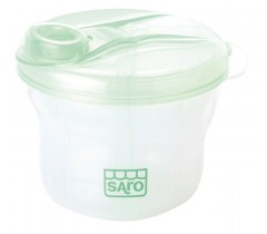 Saro - Doseador 3 secções Capa verde