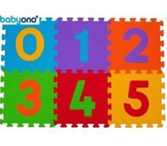 Baby Ono - Puzzle em espumas 6pcs números