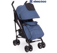 Kikka Boo - Carrinho de bebé Quincy azul melange