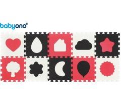 Baby Ono - Puzzle em espuma 10pcs Formas
