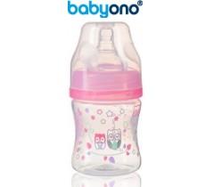 Baby Ono - Biberão anti-cólicas, 120 ml rosa