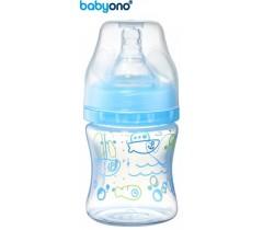 Baby Ono - Biberão anti-cólicas, 120 ml azul