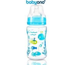 Baby Ono - Biberão anti-cólicas, 240 ml azul