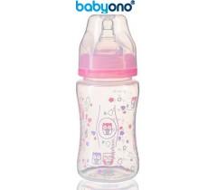 Baby Ono - Biberão anti-cólicas, 240 ml rosa
