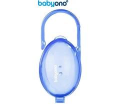 Baby Ono - Porta-chupetas azul