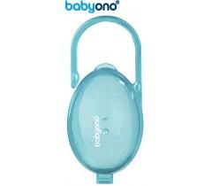 Baby Ono - Porta-chupetas turquesa