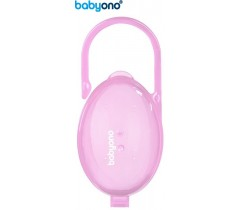 Baby Ono - Porta-chupetas rosa