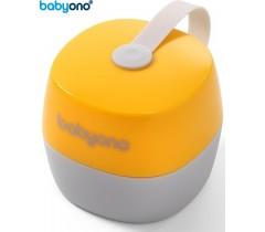 Baby Ono - Porta-chupetas amarelo