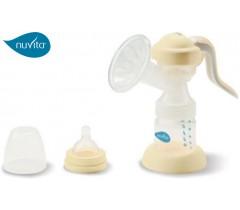 Nuvita - Extrator de leite materno manual rotativo