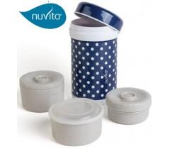 Nuvita - Termo de aço inoxidável 1,2 litros.