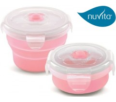 Nuvita - Recipiente de silicone 230ml