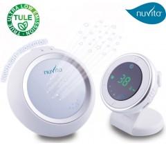 Nuvita - Monitor Áudio TULE com luz de presença
