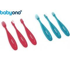 Baby Ono - Conjunto de escova de dentes para bebé