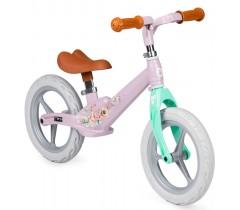 MoMi Bicicleta de equilíbrio ULTI Pink Flower