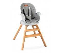 MoMi WOODI Cadeira da papa Gray
