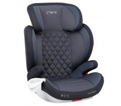 MoMi Cadeira auto QUICK FIX Gr. 2-3 Isofix Gray