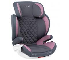 MoMi Cadeira auto QUICK FIX Gr. 2-3 Isofix Pink
