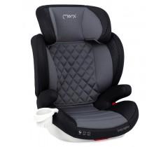 MoMi Cadeira auto QUICK FIX Gr. 2-3 Isofix Black