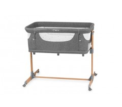MoMI Berço 4 in 1 SMART BED Gray