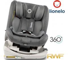 Lionelo - Cadeira auto Bastiaan RWF Stone Isofix 360º (0-36 kg)