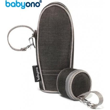 Baby Ono - Saco térmico para garrafa /biberão + porta chupetas