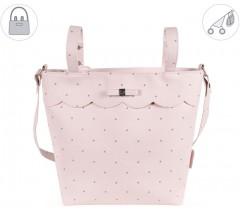Pasito a Pasito - Bolsa para carrinho de bebé Chelsea rosa