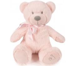 Pasito a Pasito - Urso de peluche Chelsea rosa 25cm