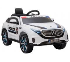 Carro Elétrico Mercedes EQC 400 Polícia