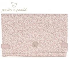 Pasito a Pasito - MUDA FRALDAS FLOWER MELLOW ROSA