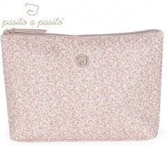 Pasito a Pasito - NECESSAIRE FLOWER MELLOW ROSA