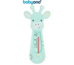 Baby Ono - Termómetro de banho flutuante verde