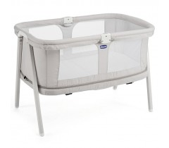 Chicco - Berço de bebé Lulla Go Zip, Light Grey