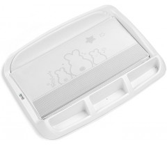 Brevi - Vestidor rígido com compartimentos TABLET Bianconiglio