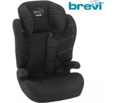 Brevi - Cadeira auto Grupo 2/3 (15-36 kg) NIGEL Total Black
