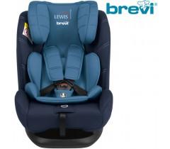 Brevi - Cadeira auto Grupo 0+/1/2/3 (0-36 kg) LEWIS Isofix TT Sky Blue