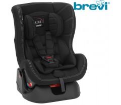 Brevi - Cadeira auto Grupo 0+/1 (0-18 kg) KEKE Total Black