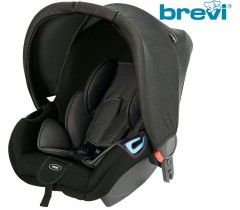 Brevi - Cadeira auto Grupo 0+ (0-13 Kg) ADON Carbono