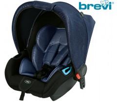 Brevi - Cadeira auto Grupo 0+ (0-13 Kg) ADON Blue Blazer