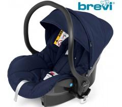 Brevi - Cadeira auto Grupo 0+ (0-13 kg) Smart Blue Jeans
